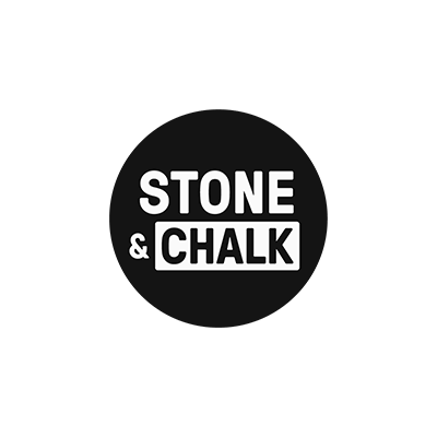 stone-and-chalk